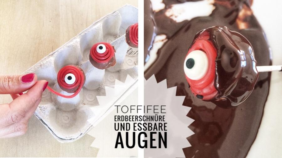 Halloween-Party Monsterkuchen mit Augen