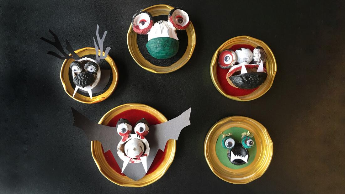Halloween-Party: Grusel-Ahnen-Galerie