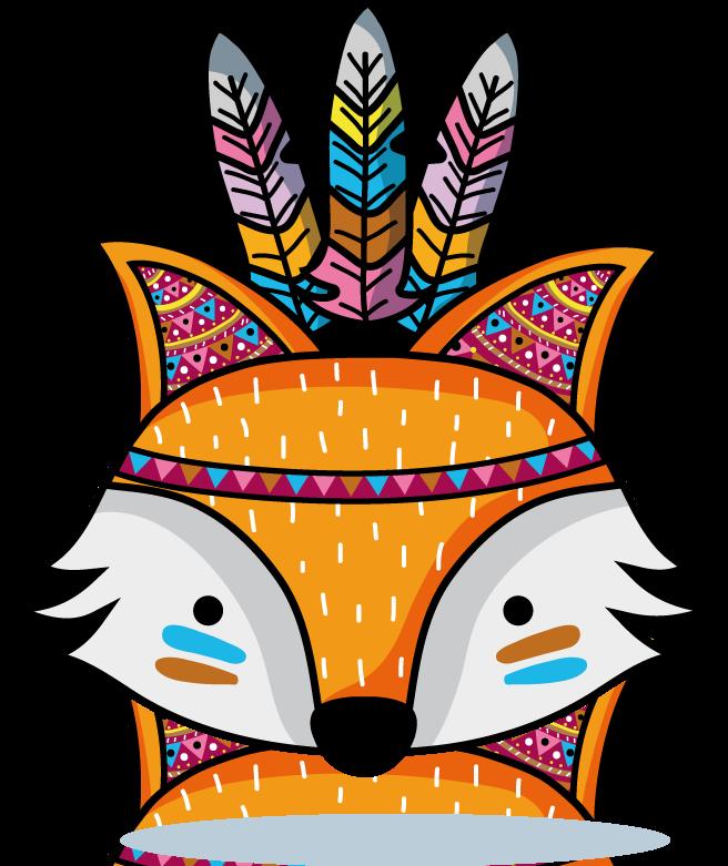 Der Fuchs ist ein typisches Waldtier