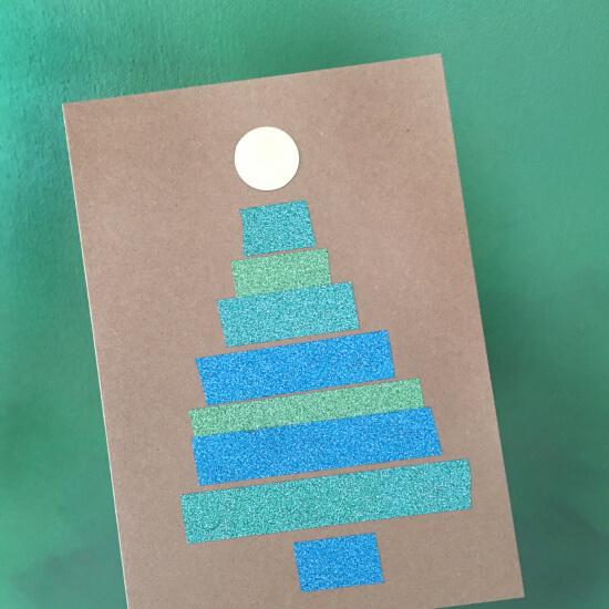 Weihnachtskarten Mit Kindern Basteln Juhubelboxde