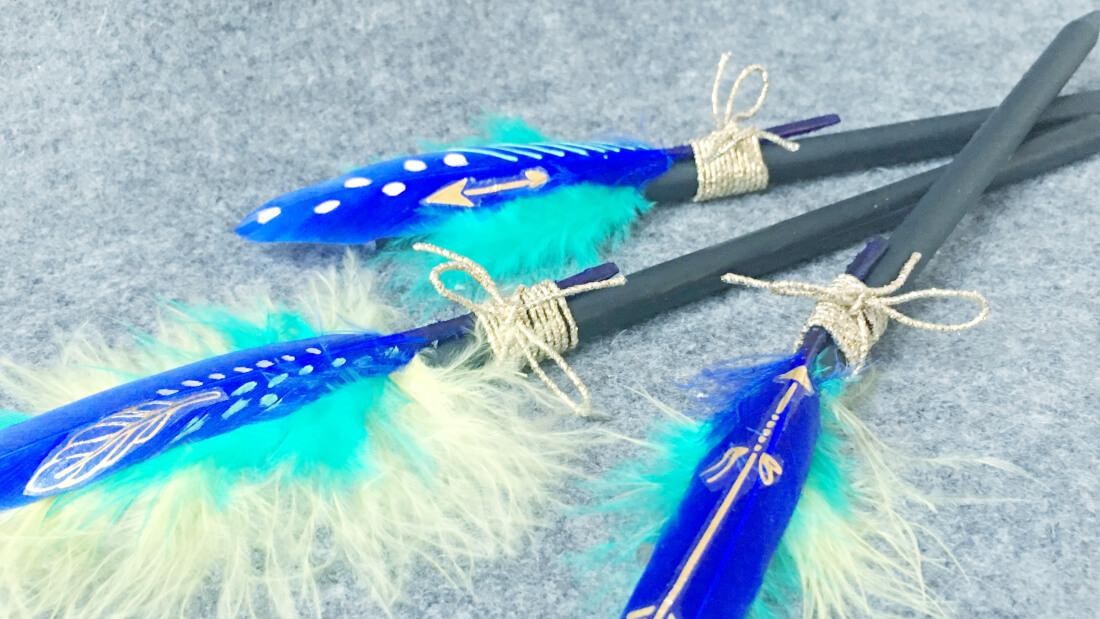 Indianerparty Mitgebsel Stift