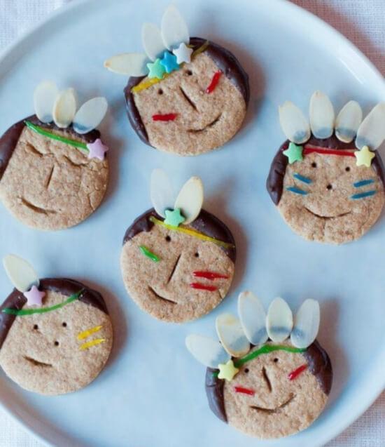 Indianer-Kekse